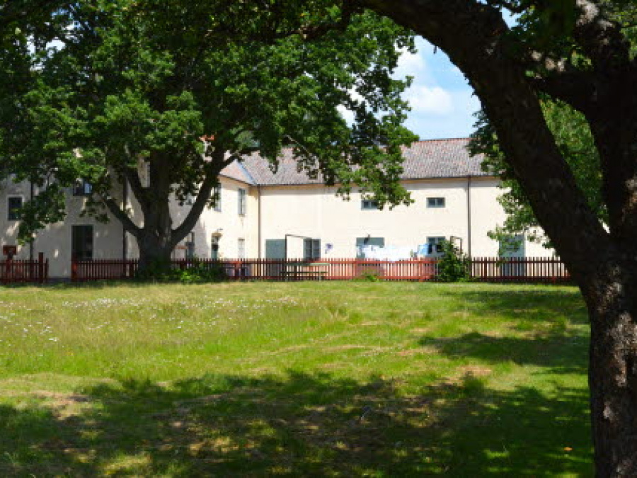 Munkträdgården och Gamla teatern