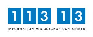 113 13 information vid olyckor och kriser