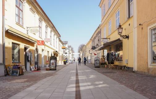 Storgatan i Vadstena