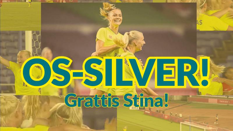 Grattis till OS-silvret Stina!