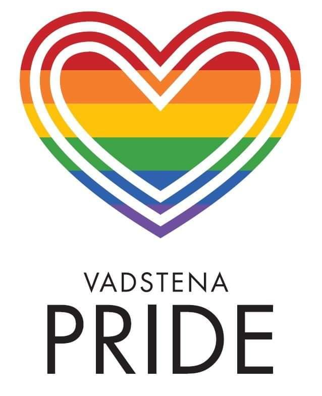 Vadstena Pride. Logotype.
